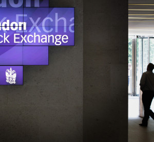 A man walks to the lifts inside the London Stock Exchange on Aug. 5, 201,1 in London, England. (Peter Macdiarmid/ Getty Images News/Thinkstock file)