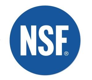 The NSF International logo. (Provided by NSF International)