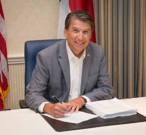 A $21.74 billion budget bill was signed Sept. 18 by North Carolina Republican Gov. Pat McCrory. (Provided by North Carolina Governor's Office)