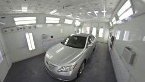 The Capital Collision Center paint booth. (Provided by Capital Collision Center)