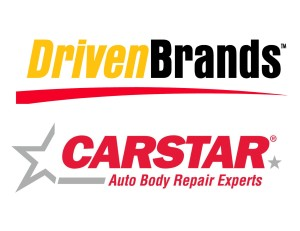 The Driven Brands and CARSTAR logos are shown. (Provided by Driven Brands, CARSTAR)