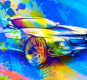 Automotive paint. (Alvina_Denisenko/iStock/Thinkstock)