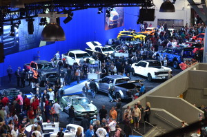 Ford at the 2014 SEMA Show. (Provided by Specialty Equipment Market Association)