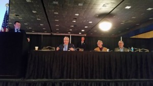 The Collision Industry Conference Class A definition panel is shown Tuesday, Nov. 3, 2015, at SEMA. (John Huetter/Repairer Driven News)