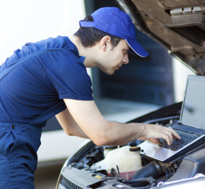 Diagnostic scans and system calibrations are likely more important and more frequently required than ever before in collision repair -- and this trend will probably grow further in the future. (Minerva Studio/iStock/Thinkstock)