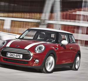 The 2014 MINI Cooper hardtop is shown. (Provided by BMW)