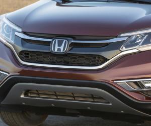 The 2016 Honda CR-V is shown. (Provided by Honda)