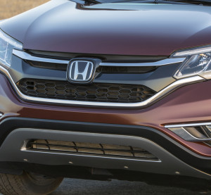 The 2016 Honda CR-V is shown. (Provided by Honda)