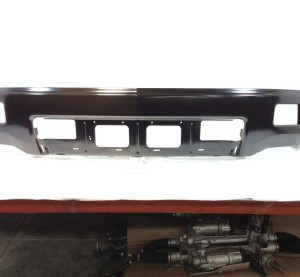 """A """"Surplus OEM"""" 2014-15 Chevrolet Silverado front bumper bar is advertised here. Rydell says 98 percent of its Surplus OEM parts are GM Outlet Shop parts. (Provided by Rydell)"""