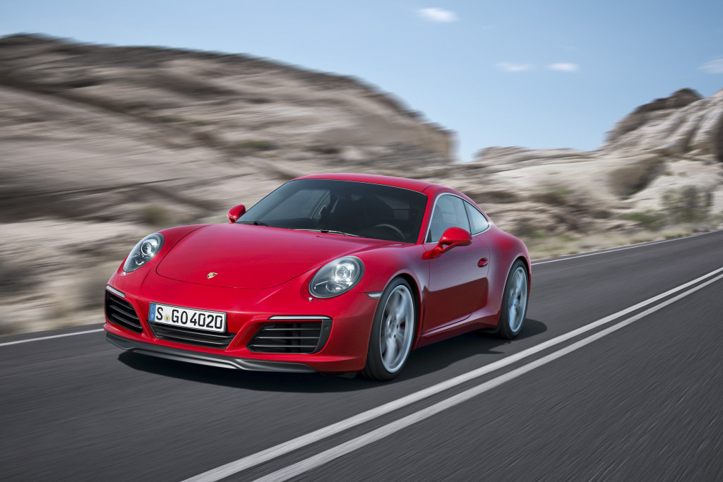 The 2017 Porsche 911 Carrera is shown. (Provided by Porsche)