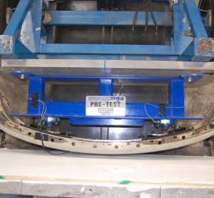 CAPA dynamic testing under the 501 Bumper Standard tests bumpers with 5 mph crashes. (Provided by CAPA)