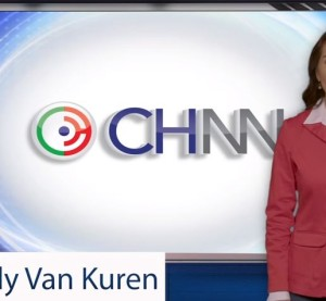 "The first episode of ""Collision Hub News Network"" ""aired"" Monday on Collision Hub's YouTube Channel, featuring anchor Mindy Van Kuren. (Screenshot from Collision Hub video on YouTube)"