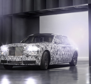 An example of the kind of aluminum-framed cars Rolls-Royce announced in January 2016 it had begun testing. (Provided by Rolls-Royce)