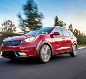 Kia built 53 percent of the 2017 Niro out of advanced high-strength steel and used a couple other competing lightweight materials to pull off what it calls a 50 mpg hybrid crossover. (Provided by Kia)