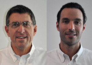Following the surprise resignation of CARSTAR U.S. brand President Dan Young, left, late last week, the company decided to accelerate a merger of its U.S. and Canadian wings. CARSTAR Canada President Michael Macaluso will also lead the U.S. CARSTAR operations on a six-month trial basis. (Provided by CARSTAR)