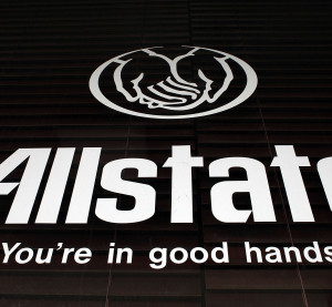 An Allstate insurance company sign is seen outside one of its stores Jan. 17, 2008, in Miami. (Joe Raedle/Getty Images News/Thinkstock file)