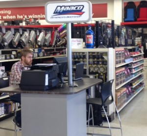"""Maaco and Pep Boys announced Monday that the retail collision repair and refinishing chain will open """"satellite shops"""" in Pep Boys facilities nationwide. (Provided by Driven Brands, Maaco)"""
