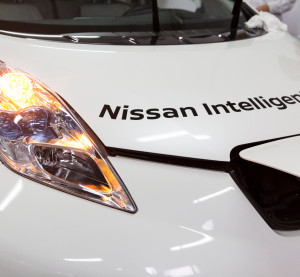 "Nissan-Renault promised 10 ""affordable, mass-market"" models in the U.S., Europe, Japan and China with partial autonomy by 2020 -- including the capability to self-drive on a freeway within the year. (Provided by Nissan)"