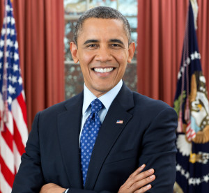Democratic President Barack Obama is pictured in this official White House portrait. (Provided by the White House)