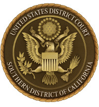 The Southern District Court of California seal. (Provided by Southern District Court of California)