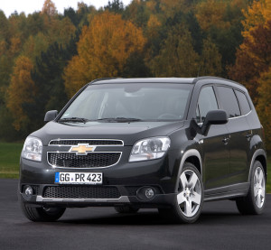 The 2012 Chevrolet Orlando is shown. (Provided by Chevrolet/Copyright General Motors)