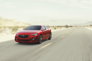 All next-generation Subarus starting with the Impreza on sale later this year -- seen here in a 2015 concept version -- will feature a rigid, strong platform using higher-strength steels to deliver a smooth, safe ride, the OEM announced Monday. (Provided by Subaru)