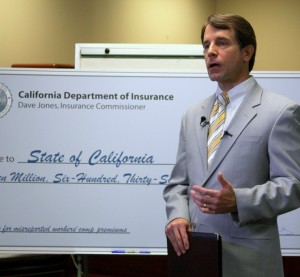 Democratic California Insurance Commissioner Dave Jones speaks in 2012. (Provided by California Department of Insurance)
