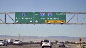 A highway sign in California. (Vikas Aggarwal/iStock/Thinkstock)