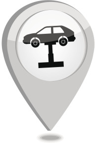 A graphic depicts a shop locator. Unfortunately, the lift seems to be teetering a little. (leonardo255/iStock/Thinkstock)