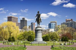 Boston Public Garden. (Sean Pavone/iStock/Thinkstock)