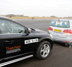 A December-January study by Thatcham and Direct Line Insurance found that 82 percent of drivers want autobraking standard and free, according to Thatcham. (Provided by Thatcham)