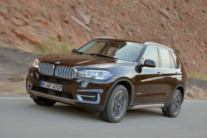 A 2014 BMW x5 xDrive50i is shown in 2013. (Provided by BMW)