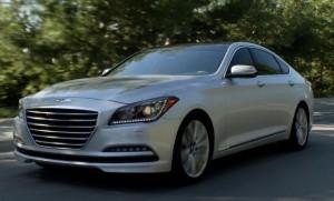 The 2016 Hyundai Genesis is shown. (Provided by Hyundai)