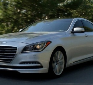 The 2016 Hyundai Genesis is shown. (Provided by Hyundai)