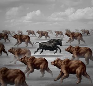 A bear market. (wildpixel/iStock/Thinkstock)