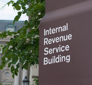 An Internal Revenue Service headquarters is shown. (Gromit702/iStock/Thinkstock)