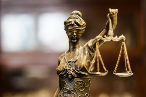A statue of Justice is seen. (Mik_photo/iStock/Thinkstock)
