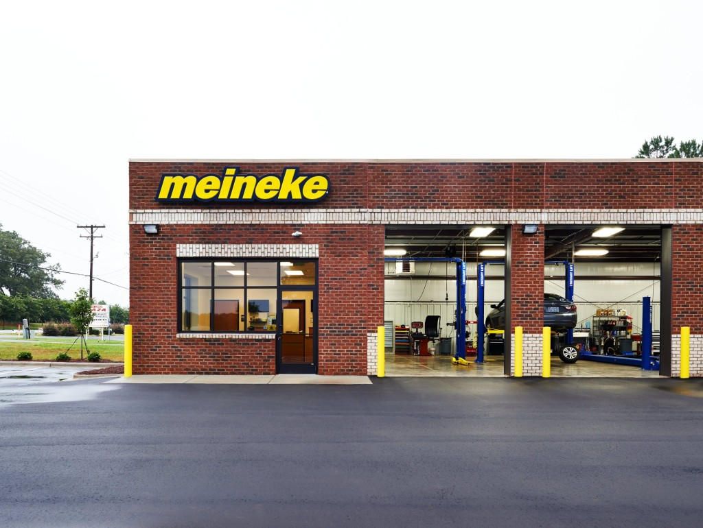A Meineke is shown. (Provided by Meineke)