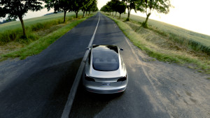 The Tesla Model 3 is shown in an image released by Tesla March 31, 2016. (Provided by Tesla)