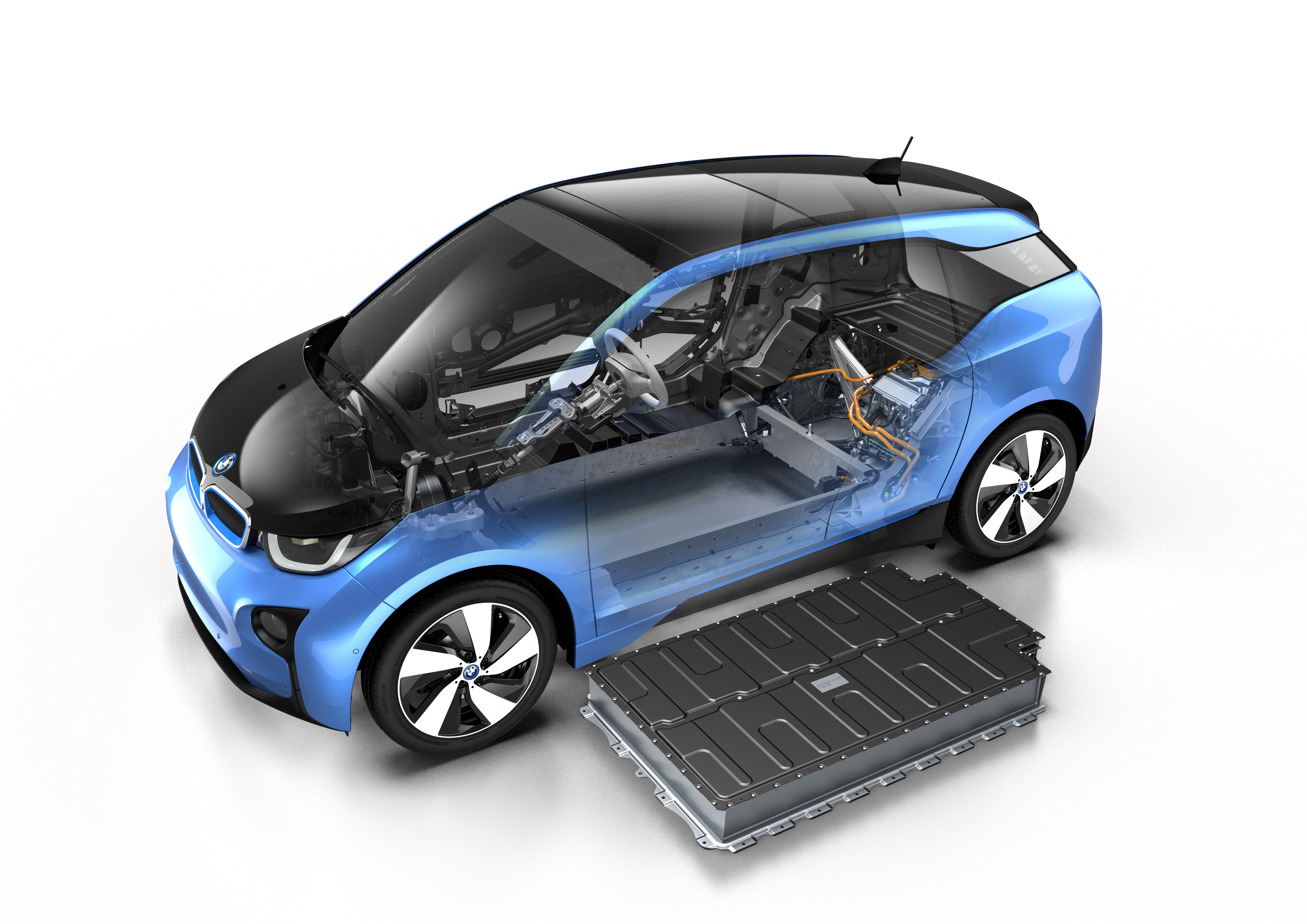 Electric Cars Bmw Expands Range Of Carbon Fiber I3 Ford Will Have