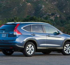 A 2013 Honda CR-V with the EX-L package is shown. (Provided by Honda)