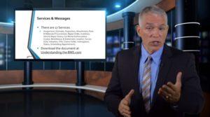 A new CIECA video, seen here in a screenshot, discusses BMS for car rental companies. (Screenshot from video on www.cieca.com)