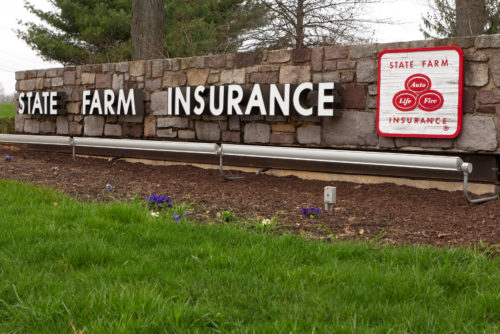 The State Farm Northeast Zone operations center in Concordville, Pa., is shown April 10, 2011. (Micah Youello/iStock)