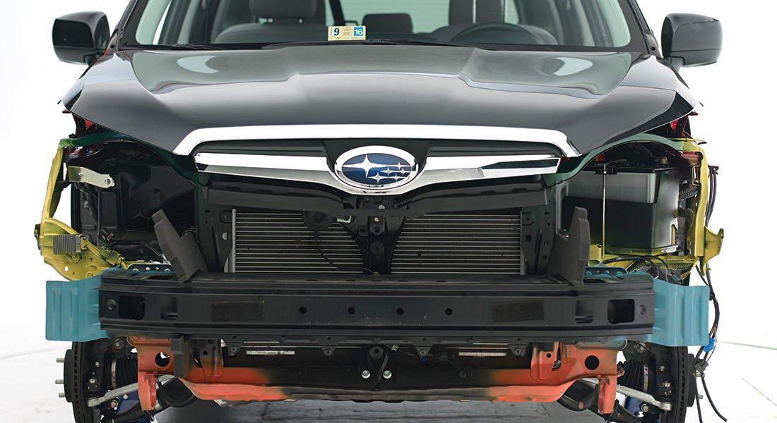 2014 subaru forester symmetrical marginal passenger side