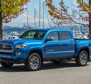 The 2016 Toyota Tacoma, which had the first 1,480-megapascal steel in North America for a Toyota. (Provided by Toyota)
