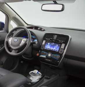 Nissan warns you cannot reuse a removed or damaged 2016 Nissan Leaf mirror. (Provided by Nissan)