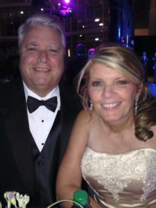 AutoWatch founder David Henderson, left, and his wife, Sharon, are pictured here. (Provided by Kristen Felder)
