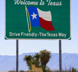 Don't mess with Texas road signs. (David Sucsy/iStock)