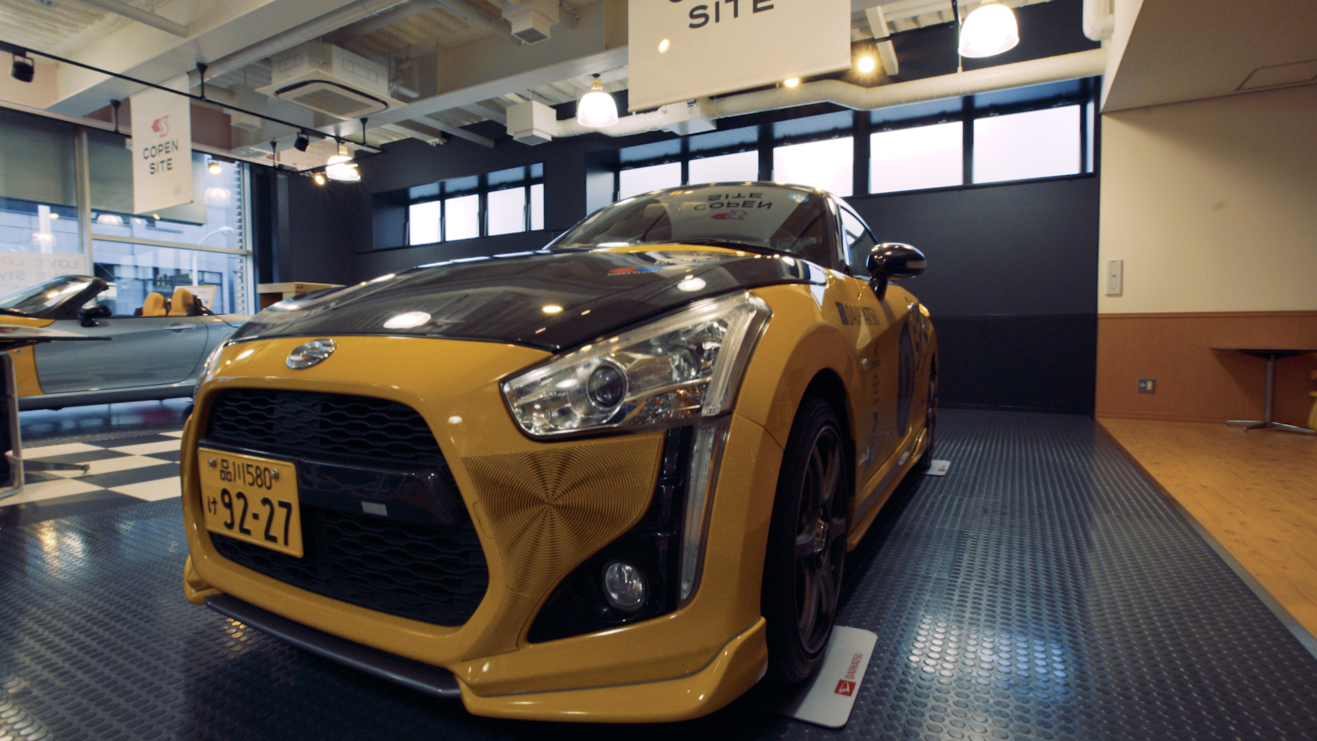 Offering a potential glimpse of the future for collision repairers and modders, Stratasys announced Monday it would 3-D-print custom body skins for Daihatsu Copens. (Provided by Stratasys)