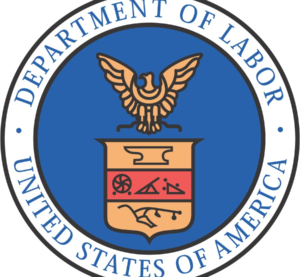 The Department of Labor logo. (Provided by www.data.gov)